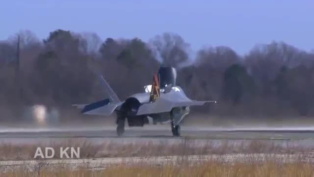 جنگنده هجومی و دفاع هوایی F35 آمریکایی