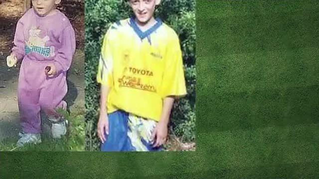 ستارگان فوتبال در دوران کودکی
