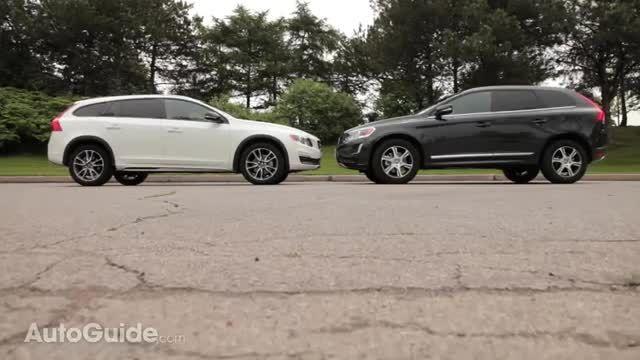 مقایسه ولوو V60 با ولوو XC60 مدل های 2015