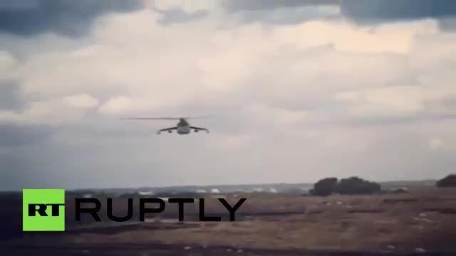 صحنه هایی ار عملیات ارتش روسیه علیه داعش سوریه ،لازقیه