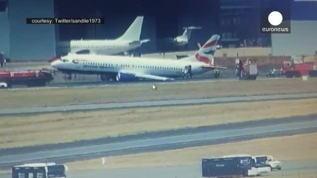 یک هواپیمای مسافربری در ژوهانسبورگ دچار سانحه شد
