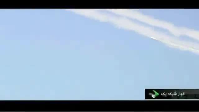 شلیک همزمان 14 موشک زمین به زمین سپاه پاسداران