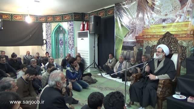سخنرانی حجت الاسلام گرجی - مسجد سرجوب / 21 آذر 93