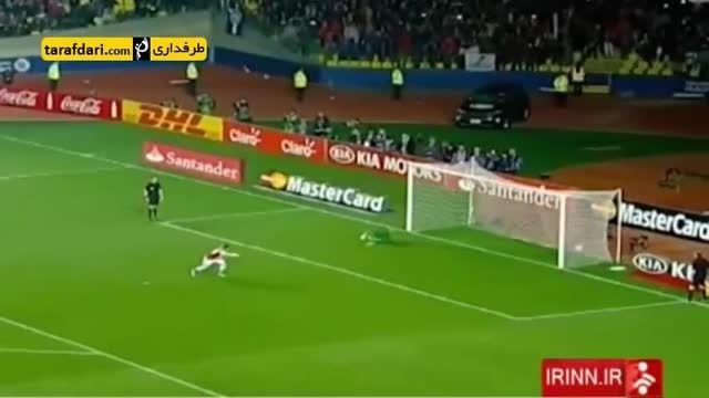 گزارشی از شکست برزیل برابر پاراگوئه در کوپا آمریکا