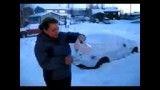 یخ زدن آب جوش در دمای منفی 40 درجه