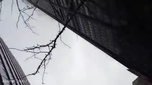 آتش سوزی مرکز جان هنکاک در شیکاگو
