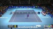 جالبترین حرکت ورزشی از بهترین تنیسور دنیا