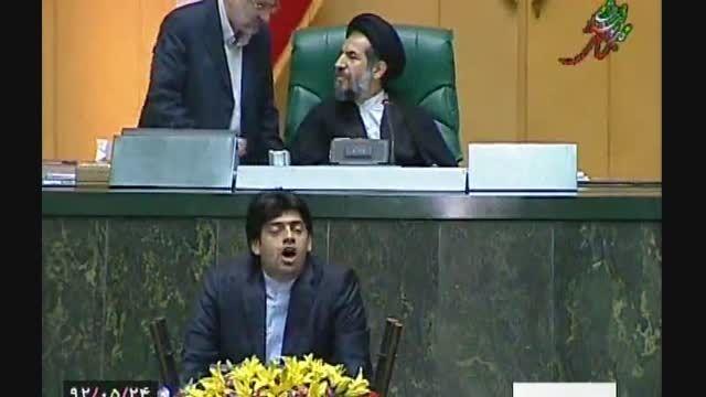 دفاع محمد دامادی از آقای علی جنتی وزیر پیشنهادی