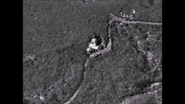 حمله ی هواپیماهای روسی به کاروان تروریست ها در لاذقیه