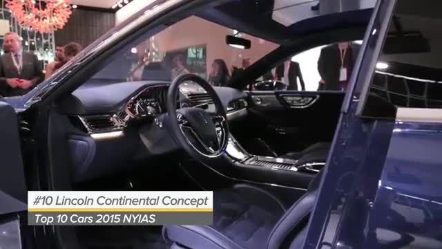 10 خودروی برتر نمایشگاه خودروی نیویورک 2015