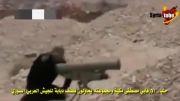 سوریه اقدام تروریست برای شکار تانک با میتس و نتیجه کار