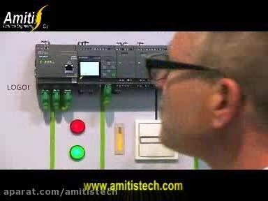 کنترل و ارتباط با plc logo در هر نقطه ازجهان با اینترنت
