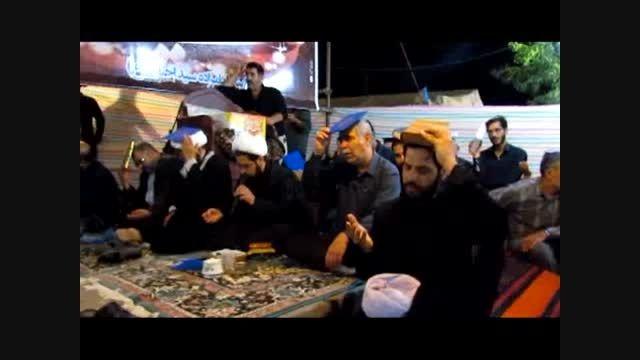 مراسم احیای شب بیست و یکم ماه رمضان شهرستان مرند