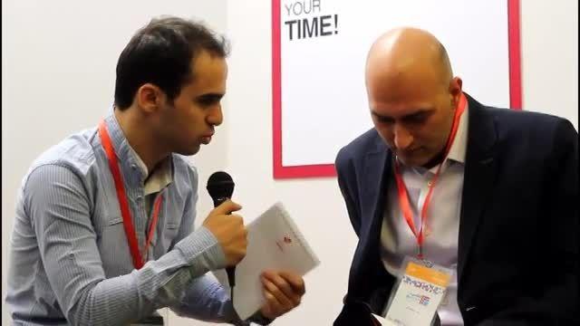 مصاحبه بامدیرایرانی توییتروسوالات توییتری. جشنواره وب5