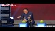 رکورد شکنی مرد چینی با انگشت