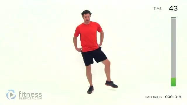 تمرین لاغر کردن سریع پا