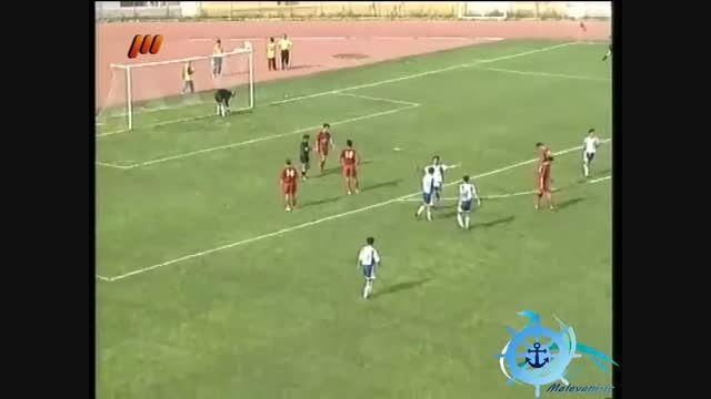سقوط تراکتور به لیگ یک در بازی مقابل ملوان