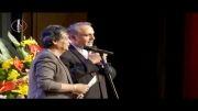 آوازخواندن رضا رویگری_(بازیگر محبوب ایرانی) در جشنواره تقدیر از بازیگران وخوانندگان خداییش ترکوند