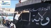 مصلوب شدن یک شهروند مسیحی سوری در شهر رقه