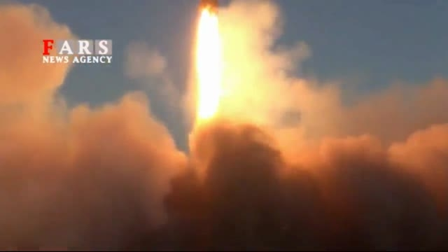 آزمایش جدیدترین موشک بالستیک ایران