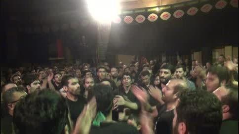شور شب تاسوعا 94 -حاج اصغر فروغی- ای شمع حرم خانه قربان