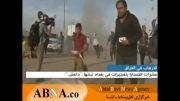 لحظه انفجار بمب در تجمع انتخاباتی در بغداد