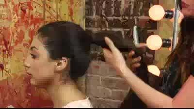 آموزش پرپشت کردن مو با اکستنشن