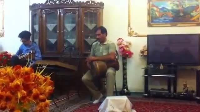 تارعلی صالحی | تمبک عباس صالحی | چهارمضراب بیداد همایون