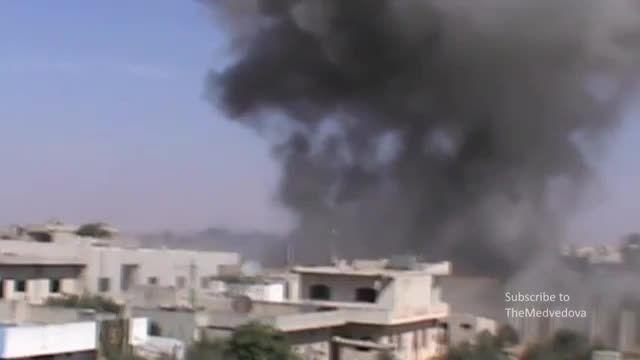 حملات سنگین روسیه در سوریه