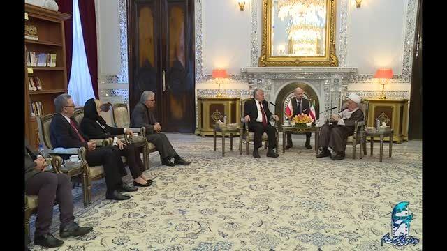 دیدار رئیس مجلس سنای لهستان با آیت الله هاشمی رفسنجانی