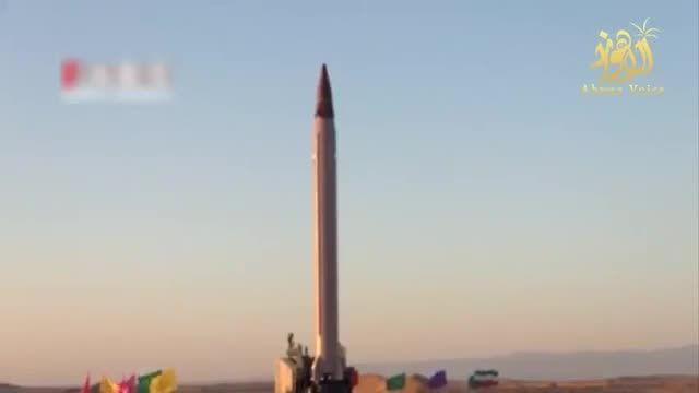 """فیلم/ لحظه پرتاب و اصابت به هدف موشک بالستیک """"عماد"""""""