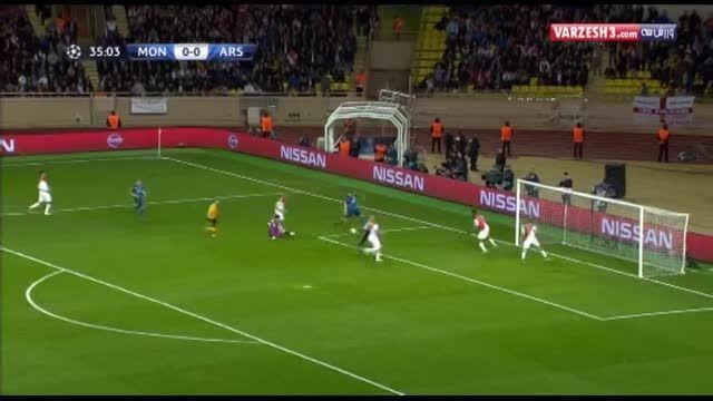 موناکو 0-2 آرسنال