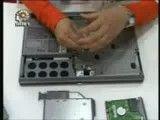 آموزش تعمیرات کامپیوتر تعویض قطعات لپ تاپ همراه با باز و بست