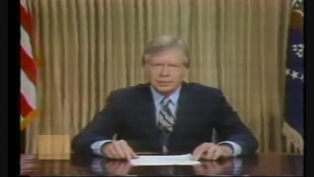 سخنان جیمی کارتر پس از شکست آمریکا در طبس - سال ۱۹۸۰