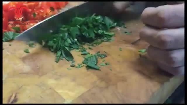 روش تهیه کباب آدانا با رنگ و لعاب سنتی