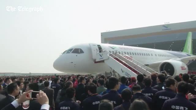 اولین هواپیمای مسافربری چینی - زومیت