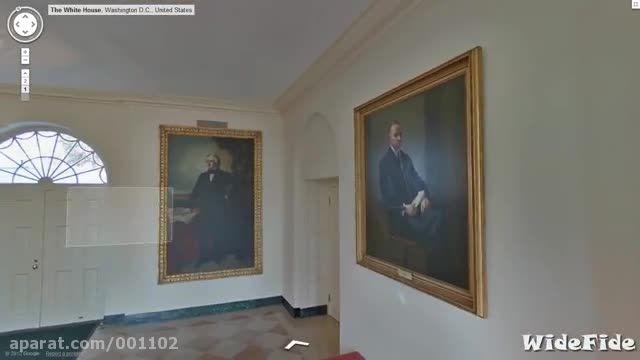 کاخ سفید تور: محل اقامت رئیس جمهور آمریکا