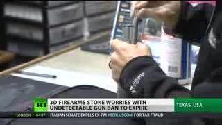 تولید اسلحه با پرینتر سه بعدی