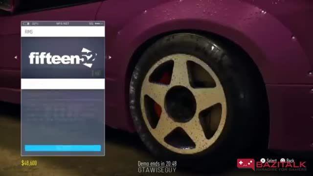 تریلر جدید از گیم پلی Need for Speed