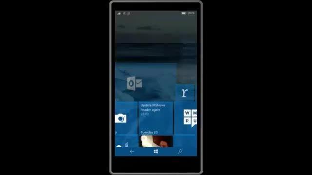 بیلد 10572 ویندوز 10 موبایل تا ساعاتی دیگر منتشر می شود