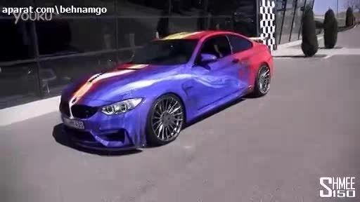 هنرنمایی باورنکردنی روی BMW M4..!