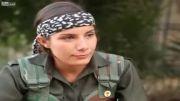 مصاحبه با یک دخترجوان بنام زوزان جودی کورددرگروه YPG