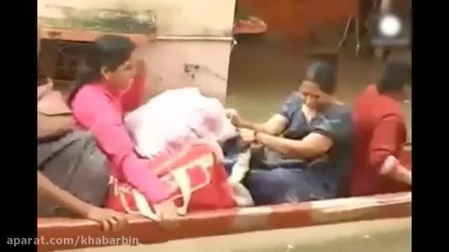 سیل بی سابقه در هند صدها قربانی گرفت