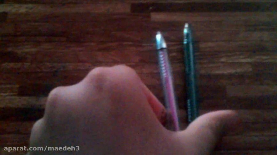 ی را خیلی ساده برای ساخت مداد رنگی برای باربی (از خودم)