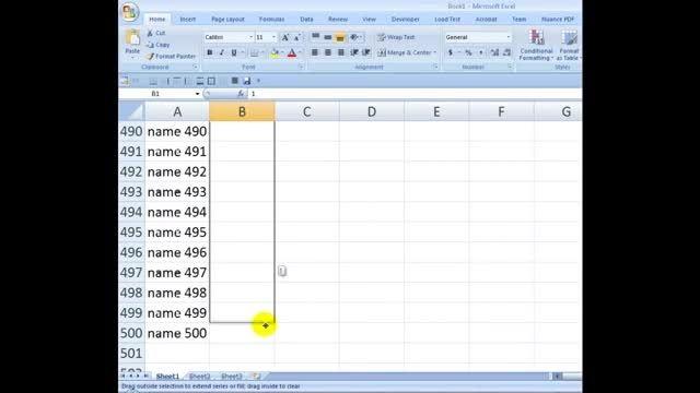 اضافه کردن ردیف   خالی بین ردیف های متوالی در اکسل