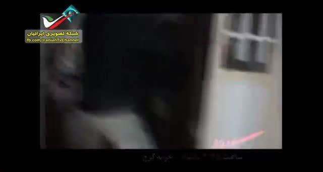فیلم حمله نیروهای امنیتی به کارگاه تولید شیشه در کرج -