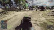 ماشینی که جان صاحب شو نجات میده battlefield4