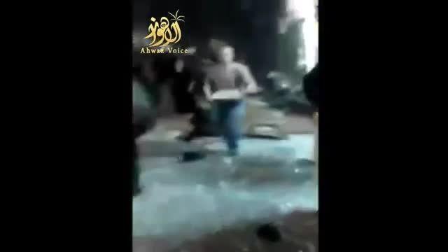 لحظه وقوع انفجار دوم در منطقه برج البراجنه جنوب بیروت
