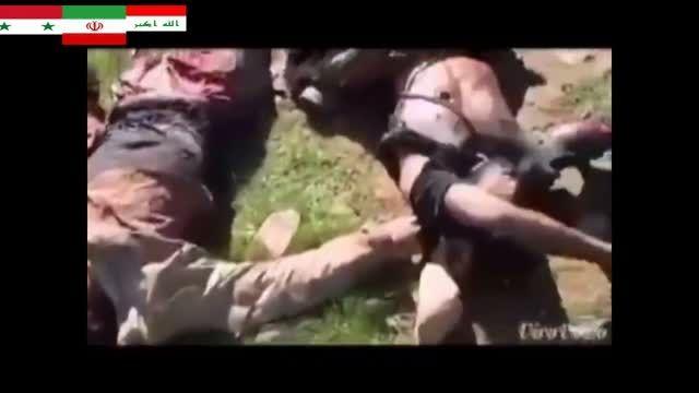 جولان سربازان ارتش عراق در شهر البغدادی عراق