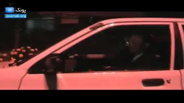 تصادف ماشین عروس در تهران